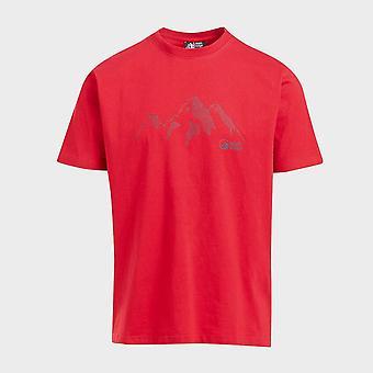 Uusi North Ridge Men's Range Lyhythihainen T-paita Punainen