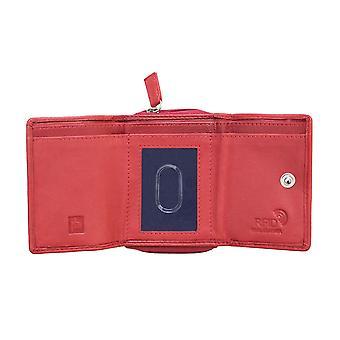Primehide Femmes Petite Bourse en cuir RFID Blocage Porte-cartes Dames 2702