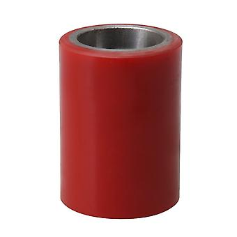 50x70mm Palle Jack Truck Load Support Wheel Polyurethan Load Wheel Red