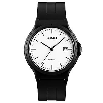 SKMEI 1449 Simple Black Pointer Fashion Colorful Men Quartz Watch