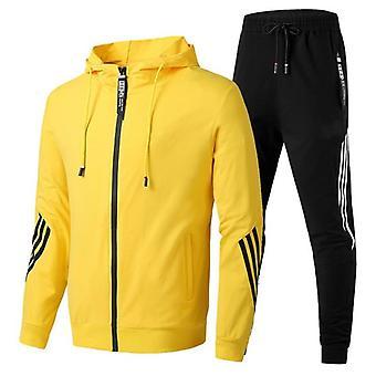 Winter Sportswear Hooded Tracksuit