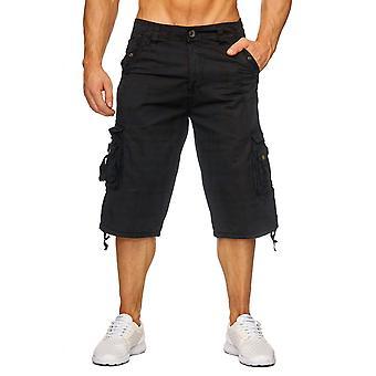 Мужчины груз Капри шорты приключения джинсы Бермудских островов короткие штаны короткое лето