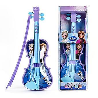 ديزني المجمدة الأميرة الكمان آلة موسيقية تعليم لعبة