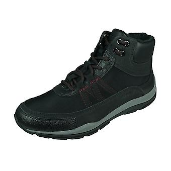 Geox D Kander A Womens Ankle Boots / Hi Top Trainers  - Black