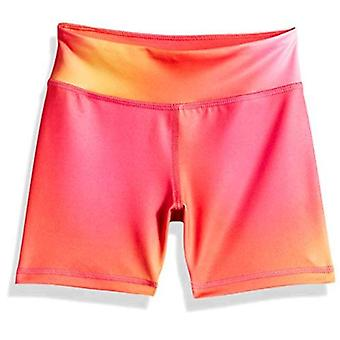 Essentials Big Girls' Stretch Active Short, Ombre Purple, L