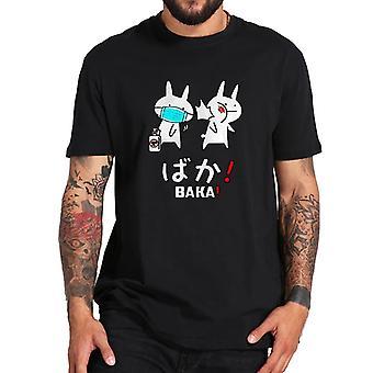 Men's/Women's Baka Rabbit Slap T-Shirt Japanese Anime Tops Tees