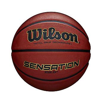 Wilson Sensation Total Grip Technology Basketball Ball Orange