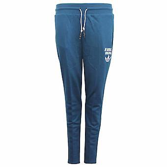 Adidas Originals Low Crotch Sininen Puuvilla Polyesteri Naisten Verryttelyhousut AY6646 X26B