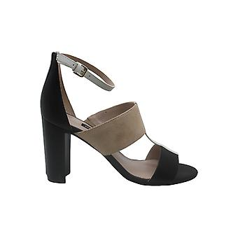 Nine West Womens Nohea Leather Open Toe Ankle Strap Classic Pumps