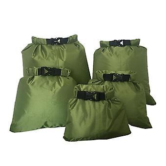 Sac sec imperméable à l'eau de pression de tissu en silicone enduit, sac sec de navigation de plaisance
