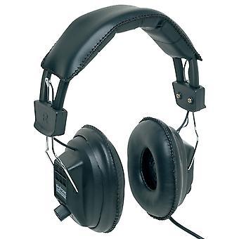 AV:Link 100.616UK MSH40, Mono/Stereo Headphones With Volume Control