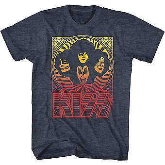 Kiss Poster Logo T-Shirt