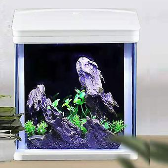 360¡ã Small Aquarium with silent water pump, filter tank, LED lighting and accessories