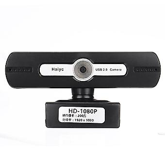 HD 1080P Laptop PC Desktop Camera USB 2.0 Webcam Video Bellen WebCam Microfoon