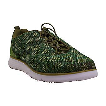 Propet Women's TravelFit Sneaker, Green, 6.5 2E US