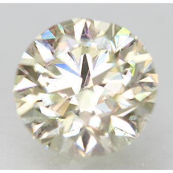 Certified 1.50 Carat J VVS2 Round Brilliant Enhanced Natural Loose Diamond 7.23m