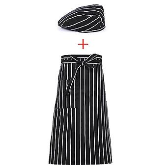 Summer Chef Uniforms Kitchen, Restaurant Cook Jacket Double Breasted Apron