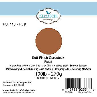 Elizabeth Craft Designs - Soft Finish Cardstock Rust