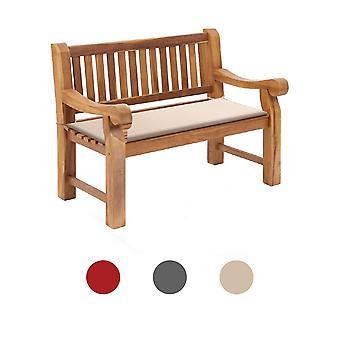 Water Repellent Outdoor Garden Bench Coussin Rembourré Swing Seat 115cm