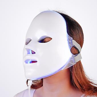 7 Colors Led Therapy Mask Light Face Mask Therapy Anti Acne Whitening Facial Mask Korean Skin Care Face Rejuvenation Home SPA