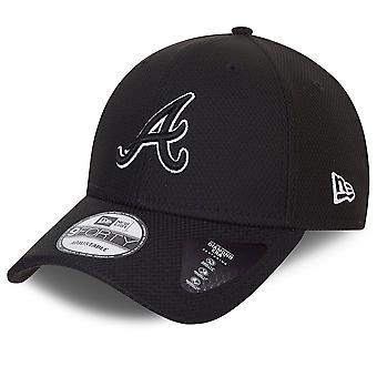 New Era 9Forty Cap - DIAMOND ERA Atlanta Braves black