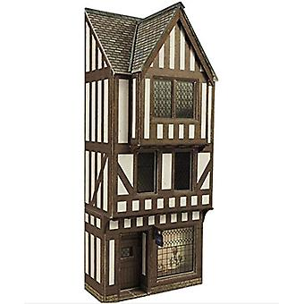 Metcalfe Po421 Low Relief Half Timbered Shop Front