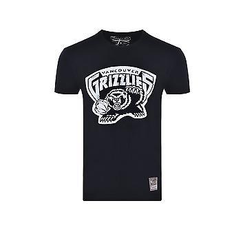 Mitchell & Ness Vancouver Grizzlies MNNBAINTL669VANGRIWHTBLK universal all year men t-shirt