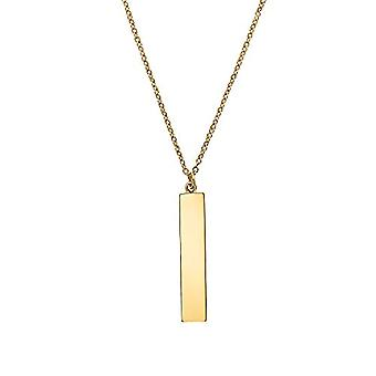 NOELANI Women's pendant necklace, sterling 925 gold plated silver(1)