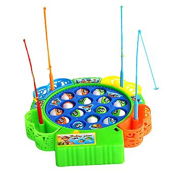 طفل التعليمية، السمك الموسيقية المغناطيسي لعبة صيد مجموعة، لعبة التعليمية،