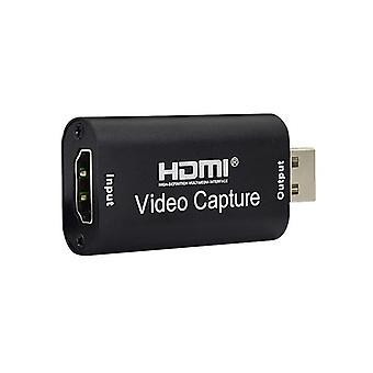 Tarjeta de captura de video 4k Usb Hdmi-compatible con Grabber Recorder