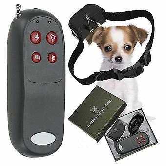 الكلب تدريب طوق المضادة للنباح الإلكترونية الحيوانات الأليفة الاهتزاز الإلكتروني تحذير الصدمات الكهربائية التدريب الإيدز