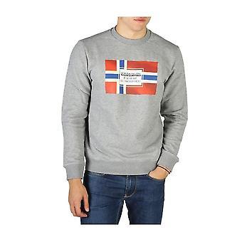 ナパピジリ - 衣類 - スウェットシャツ - ベラ-NP0A4ENG1601 - 男性 - ダークグレー、レッド - L