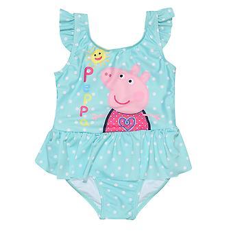 Peppa Pig Girls Solsken Ett stycke Baddräkt
