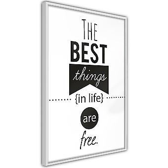 Póster - The Best Things in Life Are Free [Poster]
