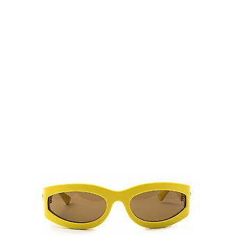 Bottega Veneta BV1089S yellow female sunglasses