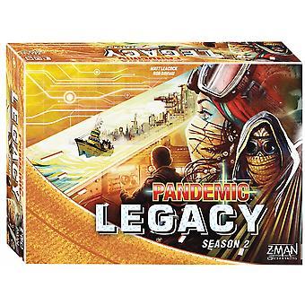 Pandemic Legacy Season 2 - Yellow Board Game