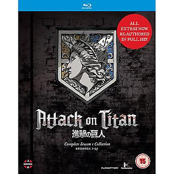 Attack On Titan: Complete Season One Collection Blu-ray