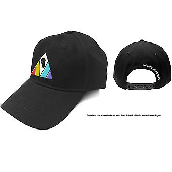 Imagine Dragons - Triangle Logo Men's Baseball Cap - Black