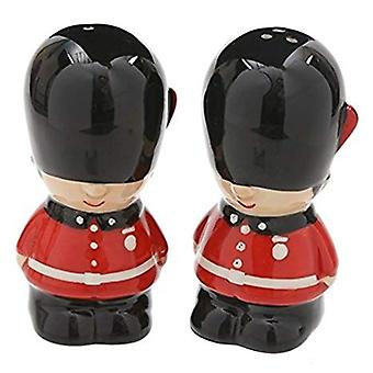 Guardsman Ceramic Salt and Pepper Set