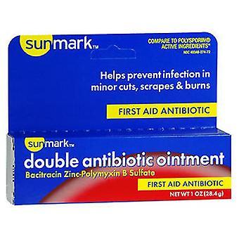 Sunmark Sunmark Double Antibiotic Ointment, 1 oz