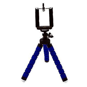 Blauwe mini statief standaard versitile bureau telefoon houder az12267