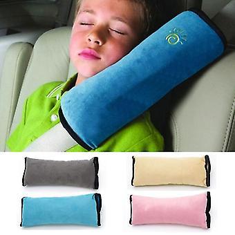 Baby Pillow Car Säkerhetsbälte och Sitssömnpositionerare Skydda axeldynan Justera fordonssätet