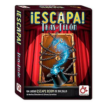 Kartenspiel Escapa tras el Telón Mercurio (ES)