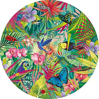 Gibsons Tropical Circular Jigsaw Puzzle (500 Pieces)