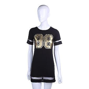 Women Summer Casual Short Sleeve 98 Estampada Lady Slim Sexy Dress Fashion