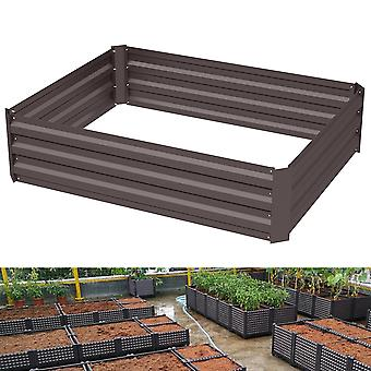 Wooden Raised Garden Plant Box