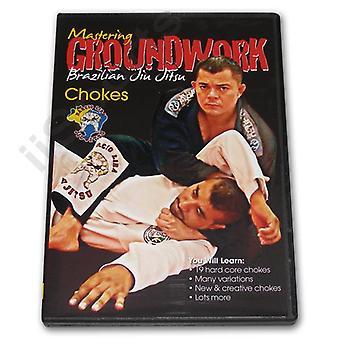 Maîtriser les chokes de Jiu Jitsu #2 Dvd Lira -Vd7019A