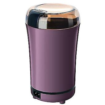 Electric Grinder, Household Small Flour Mill, Coffee Bean Dry Grinder, Grain Grinder(Purple)