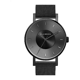 Klasse14 Volare 42 mm Dark Metal Black Milanese Mesh Bracelet VO17BK005M Watch