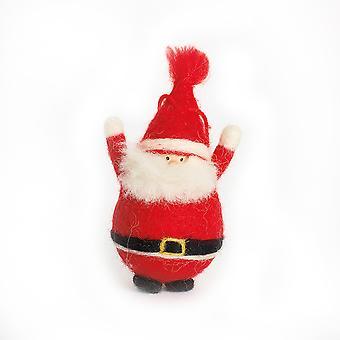 Nål filtning Kit i en låda - Santa Design